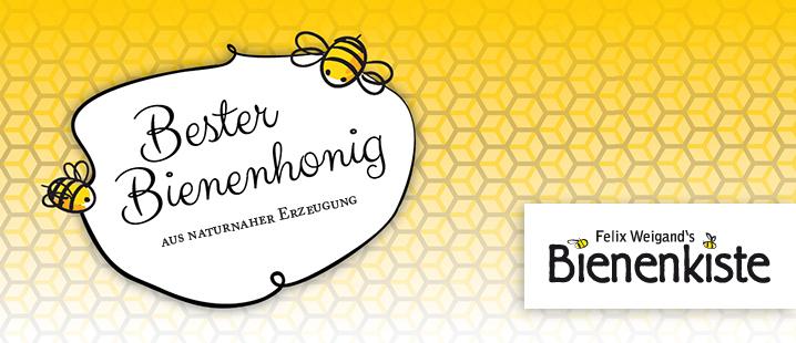 Bester Bienenhonig aus naturnaher Erzeugung - Felix Weigand